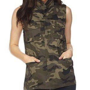 LOVE TREE Camo Green Military Army Utility Vest